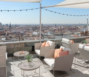 Terrasse point de vue  VINCCI CAPITOL Madrid